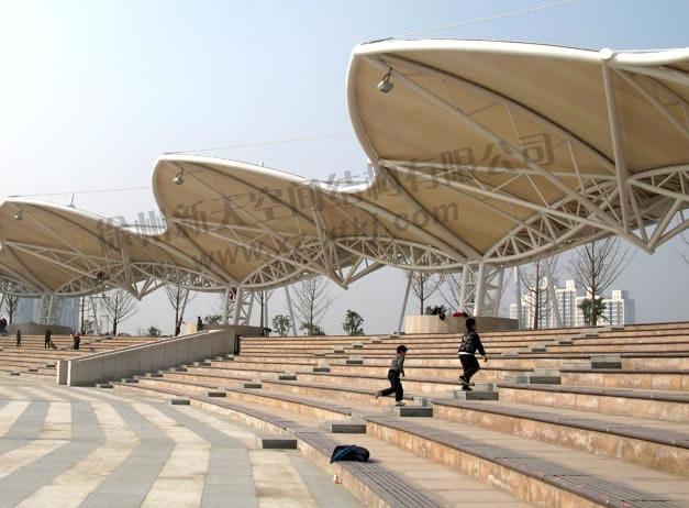 徐州音乐厅看台膜结构工程